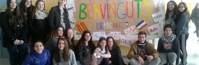 BENVINGUDA DELS ALUMNES DE L'ERASMUS+