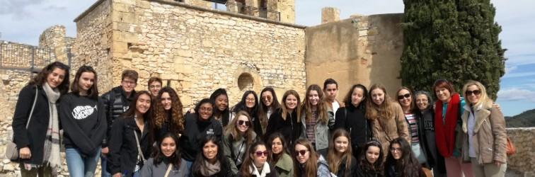 Intercanvi lingüístic amb alumnes americanes